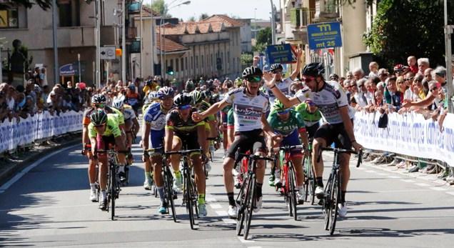 Viviani e Minali accoppiata nel Trofeo Lampre (Foto Pisoni)