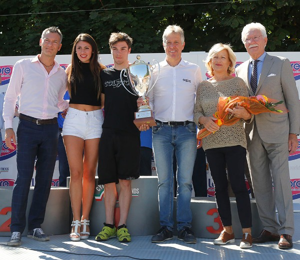 Premiazione della Colpack (Foto Pisoni)