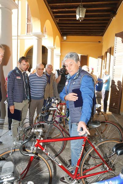 Saronni ecco le bici dei suoi tempi (Foto Piosoni)