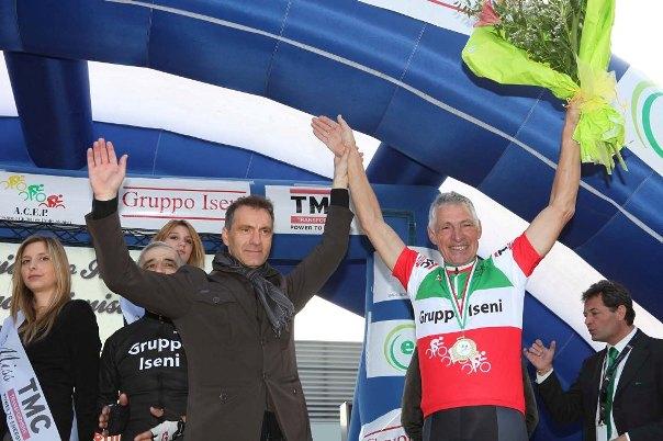 """Dr Iseni e Francesco Moser, Tricolore 2011 degli """"EX"""""""