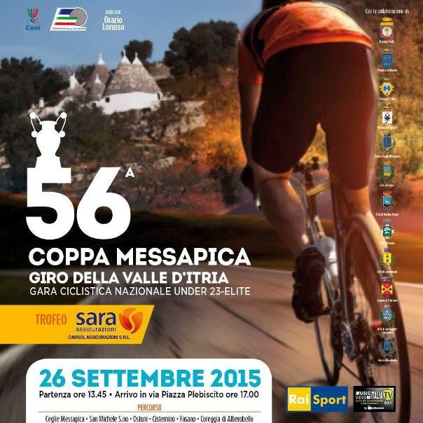 24.09.15 - Locandina Coppa Messapica 2015