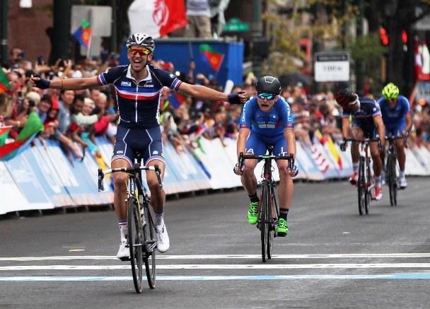 La vittoria di Ledanois (Foto Rodella)