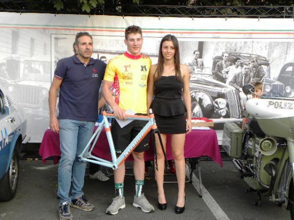 Imerio Cima, vincitore del Settembre Ciclistico Lodigiano Challange (Foto Nastasi)