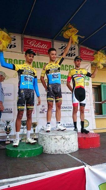 Podio 38^ Trofeo Alvaro Bacci (Foto Larisa Salvadoti)