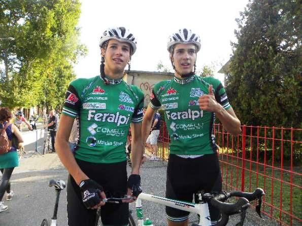da sx Andrea e Nicola Cesaro (Foto Nastasi)