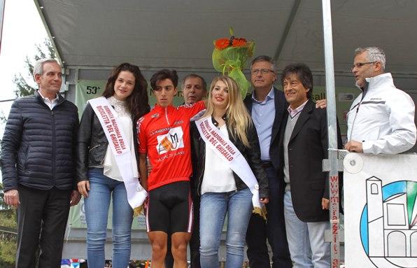 Rubino Samuele vincitore al Ghisallo (Foto Berry)