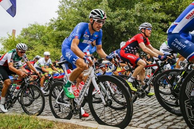 Campionati del Mondo Richmond 2015 - Road World Championship 2015 - Strada Uomini Elite 261,4 km - 27/09/2015 - Elia Viviani (Italia) - foto Luca Bettini/BettiniPhoto©2015