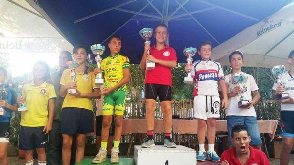Un podio al Lido di Tarquinia - Giovanissimi