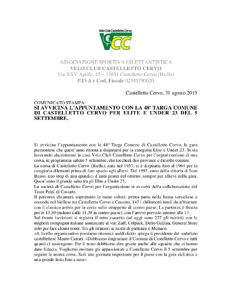 31.08.15 - cASTELLETTO cERVO - Comunicato_stampa_1