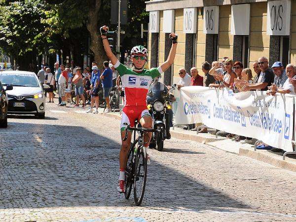 Il Tricolore Andrea Bagioli trionfa nel 31^ GP Interclub Ponchiera (Foto Mambretti)