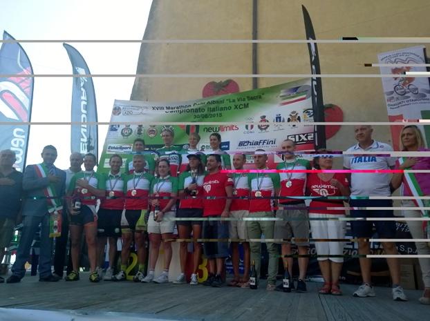 Tutti i neo Tricolori Marathon