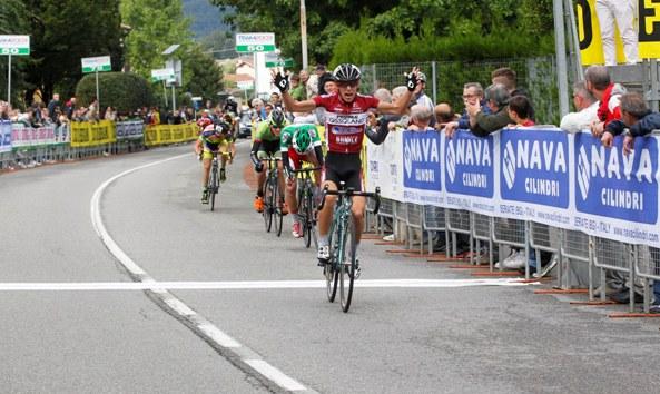 Samuele Rubino vince l'Eco di Bergamo a Pedrengo (Foto Rodella)