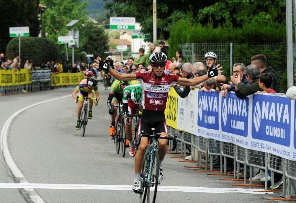 Samuele Rubino vince il 65^ GP L'Eco di Bergamo (Foto Rodella)