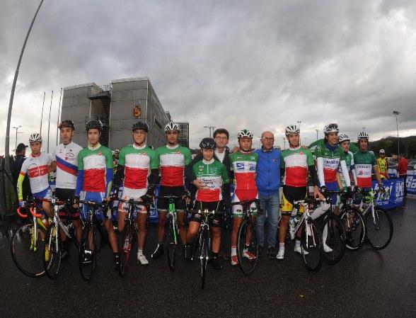 Campioni italiani di varie specialita^ al via (Foto Rodella)