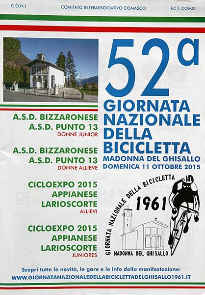 07.11.15 - LOCANDINA 52^ GIORNATA DELLA BICICLETTA