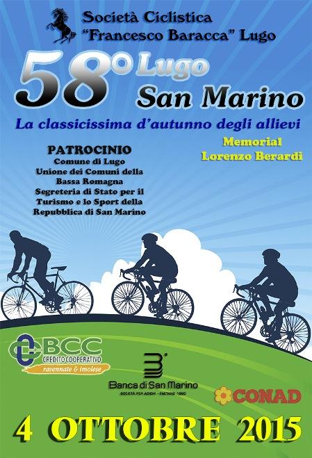 08.09.15 - LOCANDINA 58^ LUGO SAN MARINO
