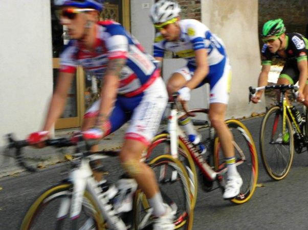 Zilioli, Van Overberghe e Cam in fuga (Foto Nastasi)