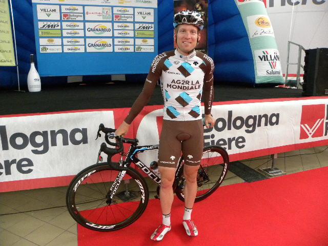 Jan Bakelants vincitore del Gran Piemonte 2015 (Foto Nastasi)