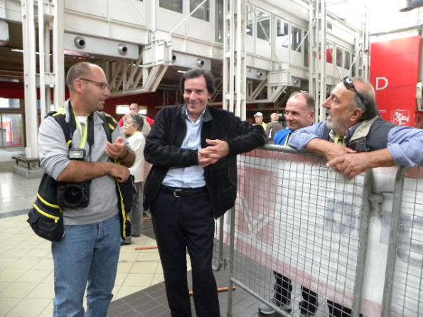 da sx Sirotti Stefano, Ferrario Fausto e Angelo Miserocchi (Foto Nastasi)