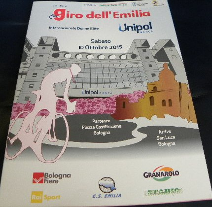 10.10.15 - LOCANDINA 2^ GIRO EMILIA FEMMINILE