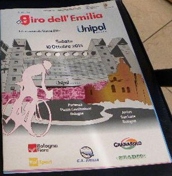 10.10.15 - LOCANDINA 2^ GIRO EMILIA-UNIPOL FEMMINILE