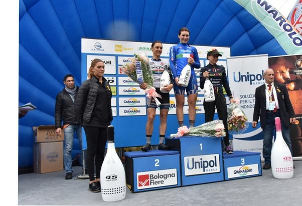 Giro dell'Emilia Donne - Podio (Foto Armanden)