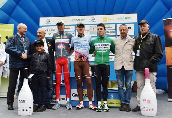 Podio e Autorita^ 98^ Giro dell'Emilia (Foto Armanden)