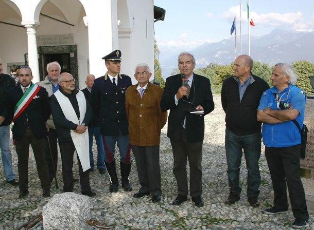 Nuovo Rettore, Sergio Meda, Franco Bettoni (Foto Berry)