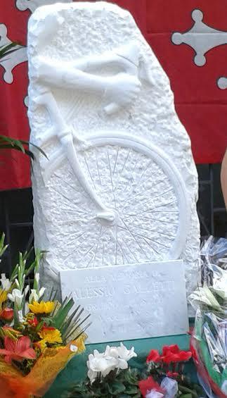 11.10.15 - Inaugurata Stele Alessio Galletti