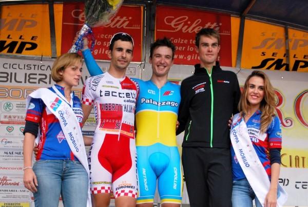 Podio Coppa del Mobilio (Foto Possenti)