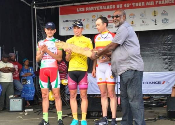 Francesco Castegnaro vince in Nuova Caledonia