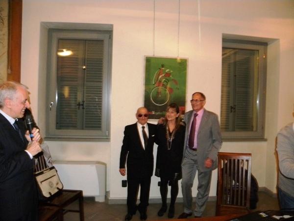 Assessore Rabolli con Longo e Severini (Foto Nastasi)