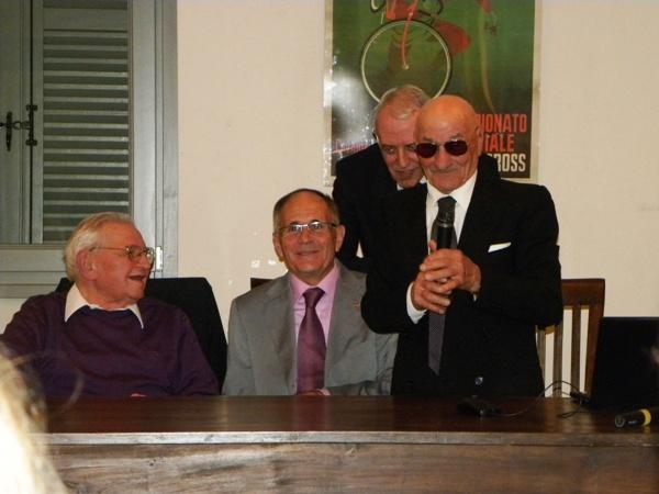 Guffanti con Longo, Macchi e Severini (Foto Nastasi)