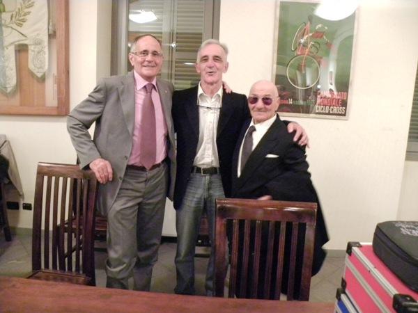 Lanzafame con Longo e Severini (Foto Nastasi)