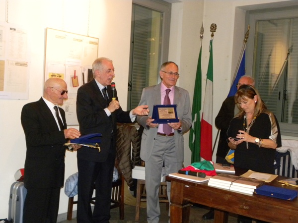 Premiazione di Renato Longo (Foto Nastasi)