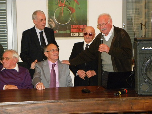Realini con Severini, Longo, Macchi e Guffanti (Foto Nastasi)