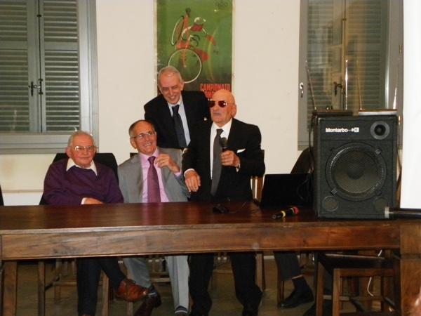 Guffanti e Macchi con Longo e Severini (Foto Nastasi)