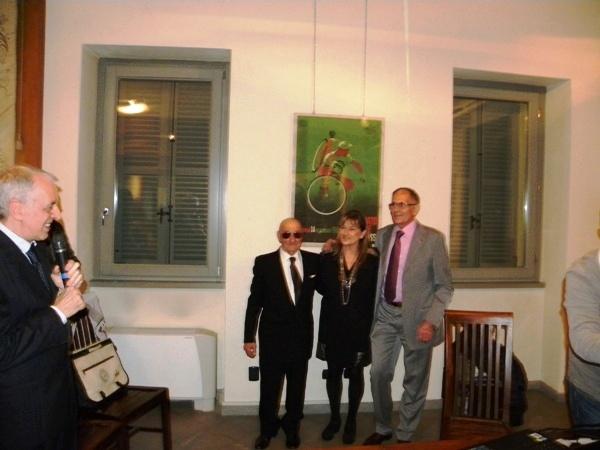 Da sx, Presidente Macchi, Severini, Rabolli e Longo (Foto Nastasi)