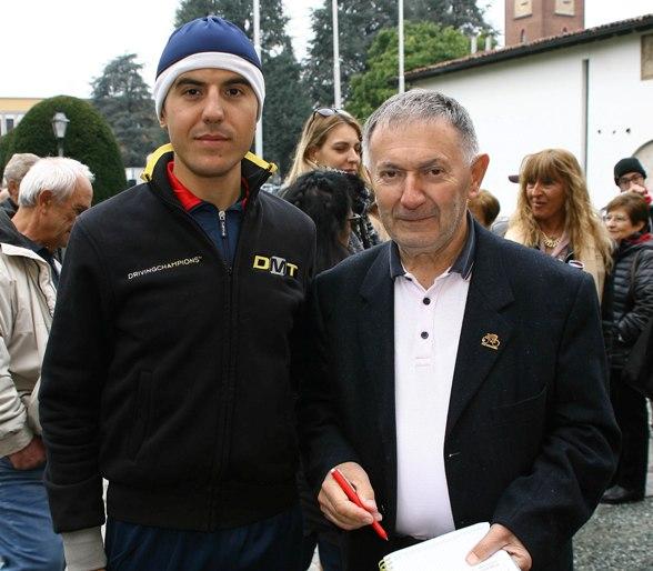 Marzoli con Bernardi (Foto Berry)