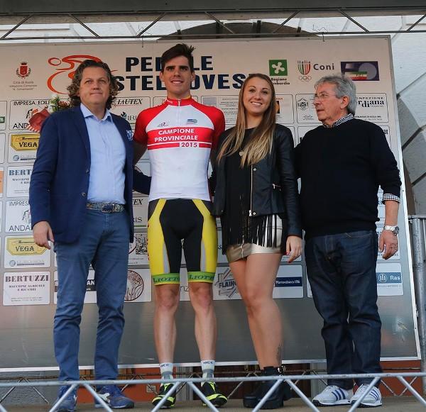 Isaia Modena, nato  il 30.07.1991, e^ il neo Campione Provinciale Elite U23 (Foto Pisoni)
