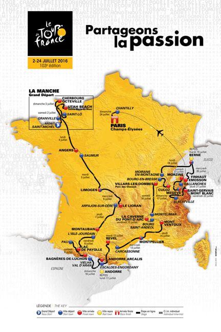 20.10.15 - Planimetria Tour de France 2016