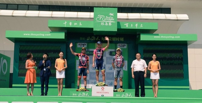 Sacha Modolo vince 3^ tappa Tour of Hainan