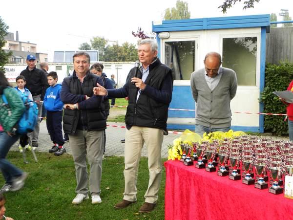 Da sx, Frenati, pres. Canegratese, Siondaco di Canegrate (Foto Nastasi)