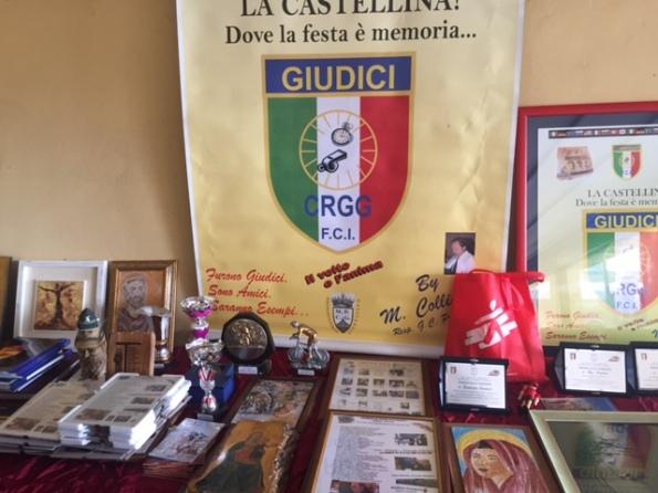 25.10.15 - Gagliardetto e Premi festa Giudici gara FCI Toscana