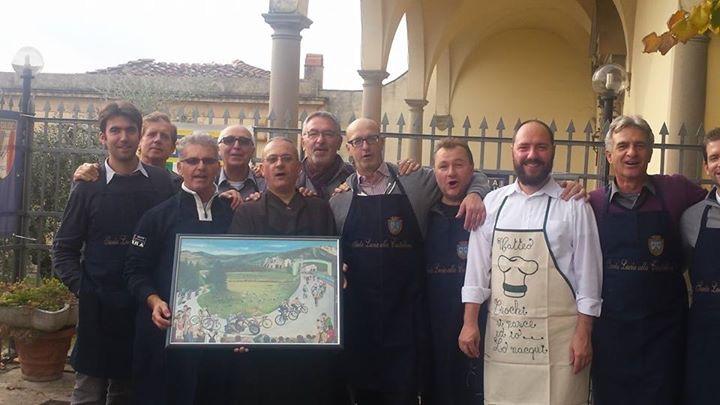 Volontari collaboratori della cucina alla Castellina