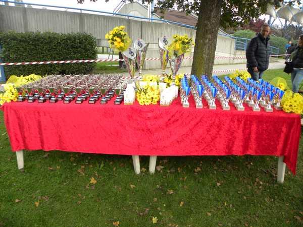 I Premi della gara (Foto Nastasi)