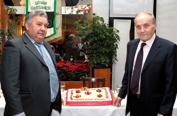 Nando qui col Presidente D'Aprile (Foto Kia Castelli)