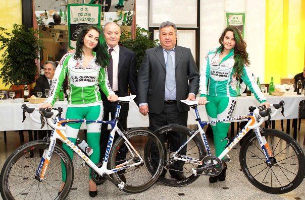Ferdinando Turati e il Presidente D'Aprile (Foto Kia Castelli)