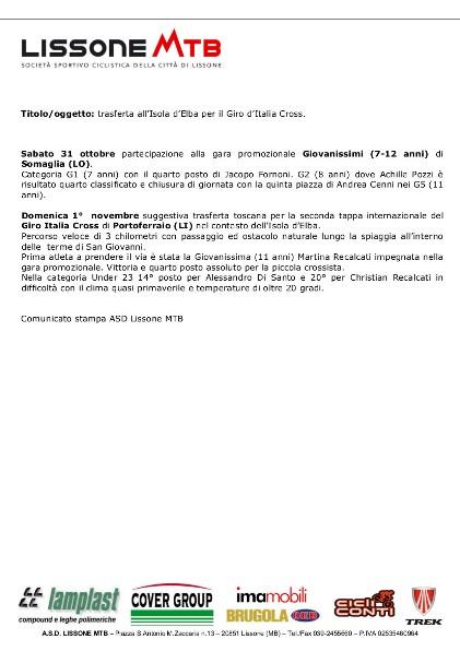 01.11.15 -  (N.35) Ciclocross