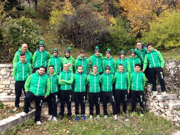 Squadra GM Ovini Europa 2016